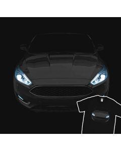 Ford Focus T-Shirt Geweldig Koplampen Tee