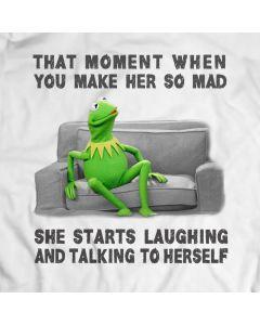 Lachen En Praten Met Zichzelf Kermit De Kikker T-Shirt