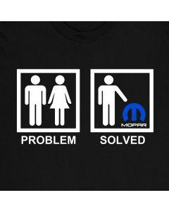 Mopar Probleem Opgelost T-Shirt Auto 100% Katoen