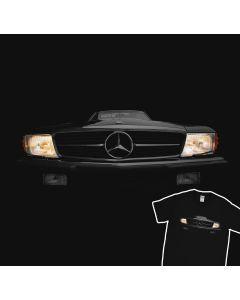Mercedes Benz SL r107 500 Koplampen Gloed T-Shirt