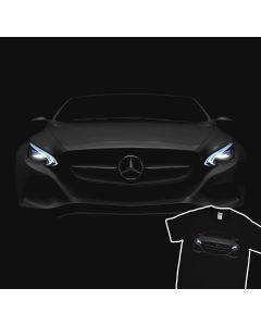 Mercedes Benz AMG GT S Koplampen Gloed T-Shirt