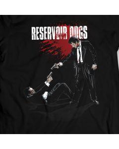 Reservoir Dogs - Buscemi / Keitel - Standoff - T-Shirt Quentin Tarantino 100% Katoen