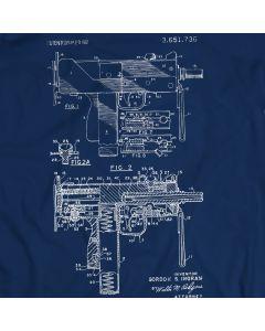 Uzi T-Shirt Open-bolt, Blowback Operated Submachine Guns Gift Idea