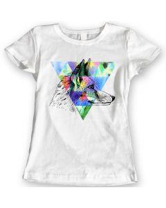 Vos T-Shirts Waterverf Cadeau Idee Voor Dames 100% Katoen